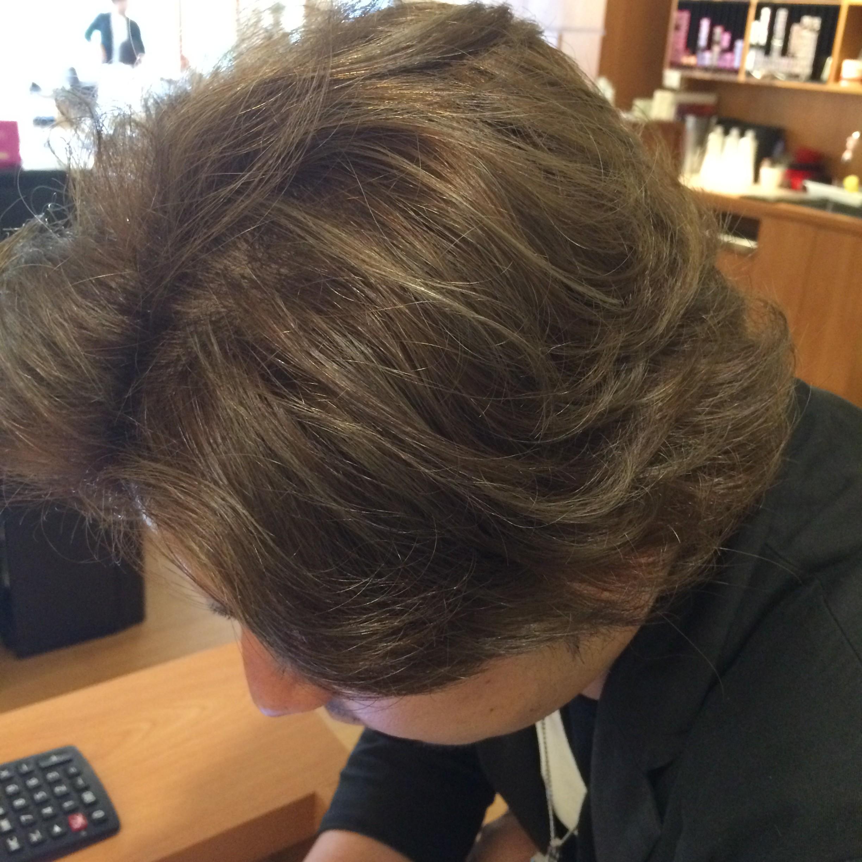 Hair Salon Art Noise Blog Grey Mesh Hair Colour