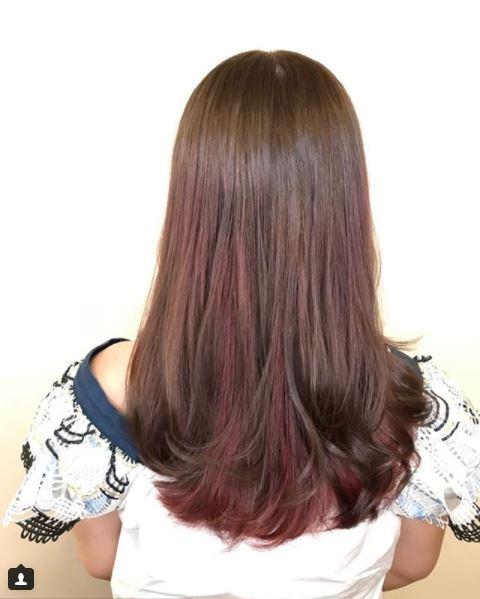 Brown Pink Highlights Best Hair Salon Singapore Art Noise Blog