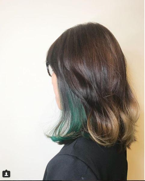 Green Inner Colour Best Hair Salon Singapore Art Noise Blog