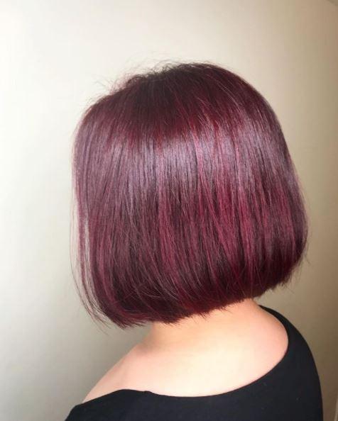 Red Bob Style Blog Japanese Hair Salon Art Noise