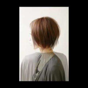 カジュアルボブ 髪型